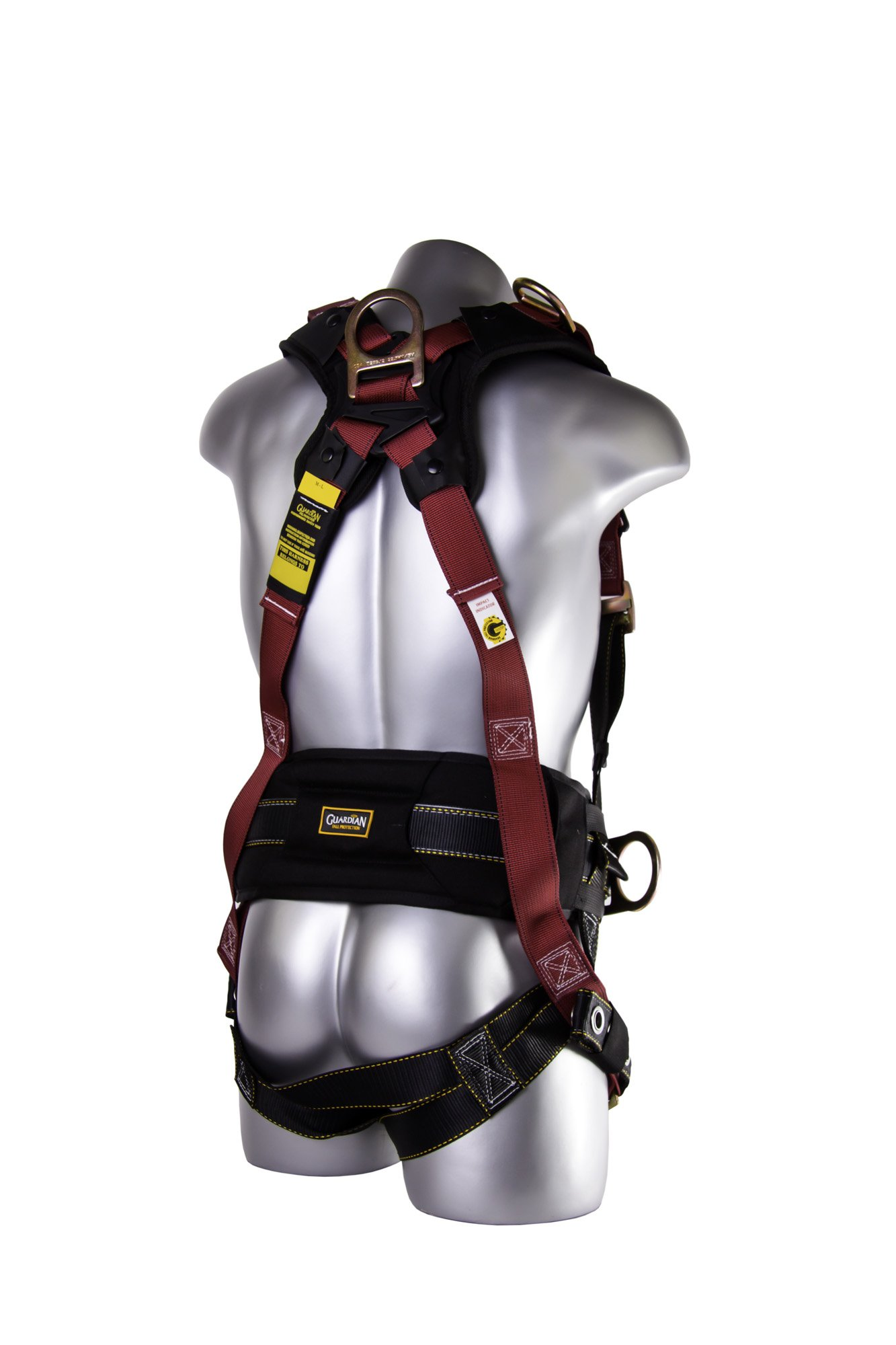 Guardian Fall Protection 11171 XL-XXL Seraph Construction Harness with Side D-Rings by Guardian Fall Protection
