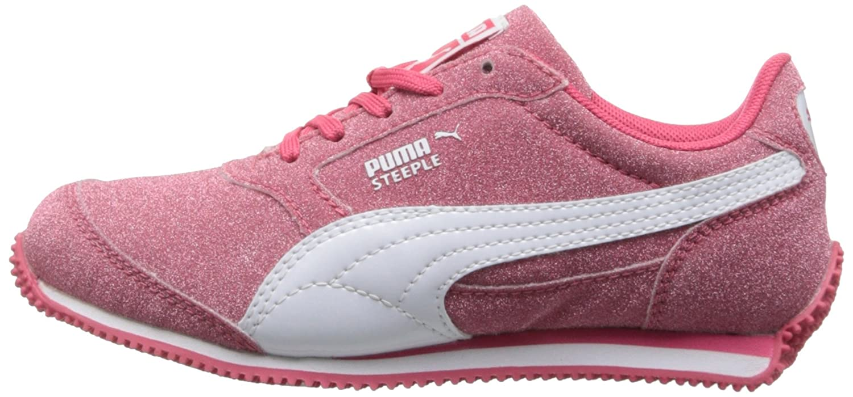 Little Kid//Big Kid PUMA Steeple Glitz AOG JR Sneaker Paradise Pink//Black 6.5 M US Big Kid 35714101