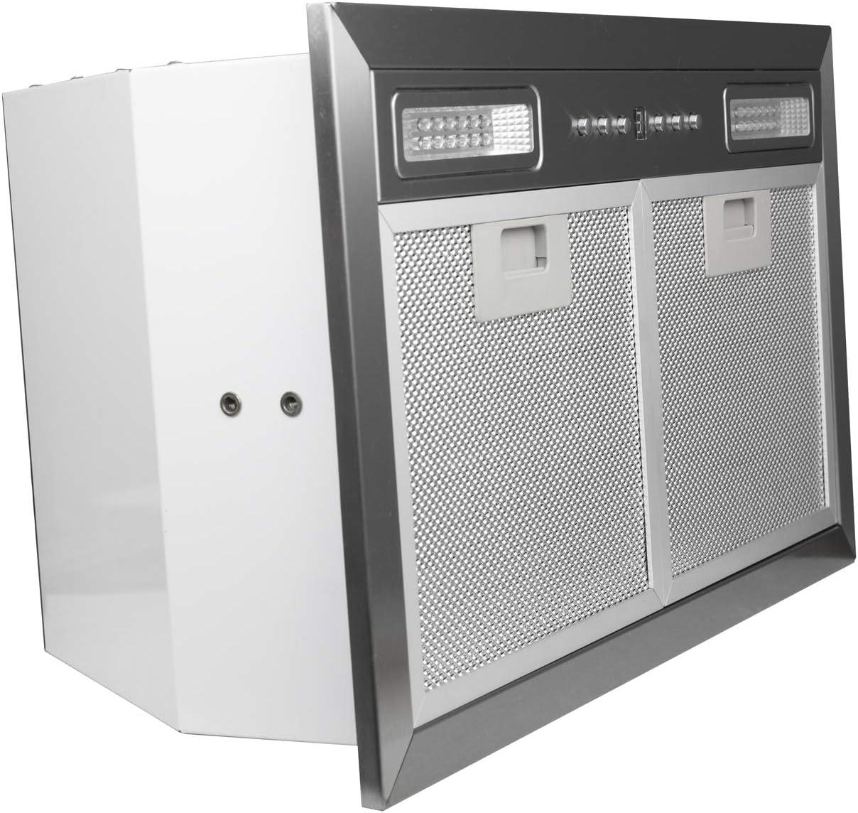ZLINE 20.5 in 400 CFM Range Hood Insert with LED Lighting in Stainless Steel