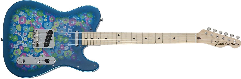 絶対一番安い Fender エレキギター MIJ Traditional Maple Flower '69 Telecaster® Blue Flower Maple MIJ Blue Flower B075DL7J7H ブルーフラワー, ARUNE 仮装雑貨のお店あるね:a22b3362 --- umniysvet.ru
