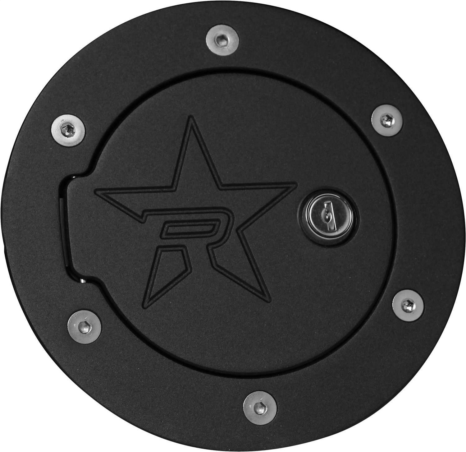 RBP RBP-6042KL-RX2 Black Locking Fuel Door