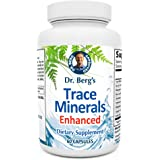 Dr. Berg's Trace Minerals Enhanced Complex - Complete with 70+ Nutrient-Dense Health Mineral - 100% Natural Ingredients…