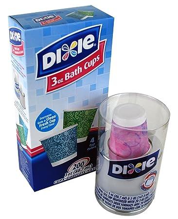 Dixie 3oz Bath Cups and Dual Size Cup Dispenser Bundle. Amazon com  Dixie 3oz Bath Cups and Dual Size Cup Dispenser Bundle