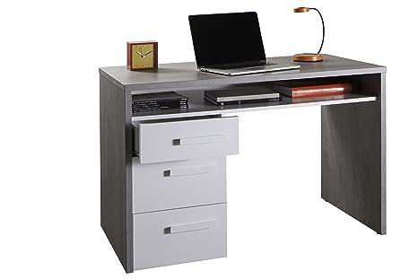 Scrivania In Legno Bianco : Composad sr k piace scrivania legno beton bianco laccato