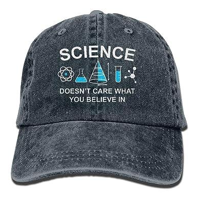 AINCIY Magníficamente la Ciencia no le Importa Gorras de béisbol ...