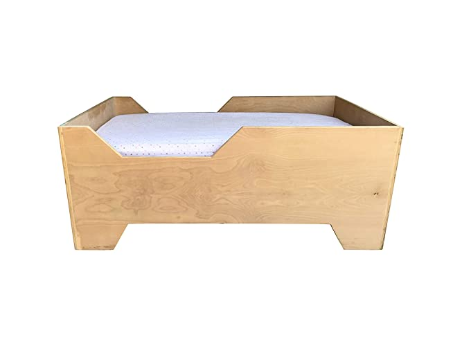 Amazon.com: Kids Toddler Bed in Birch by CW Furniture ...