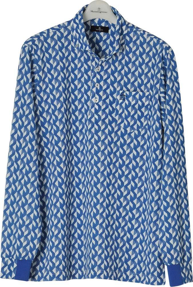 贈り物 Munsingwear(マンシングウェア)メンズ トップス ゴルフウェア 長袖ポロシャツ トップス MGMLJB05 BL00 Medium BL00 B07QRGYKMP B07QRGYKMP, IKSPIARI ONLINE SHOP:5c1adc64 --- blog.specialcharacter.co