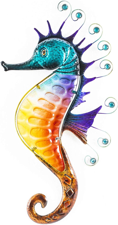 Oak Street Sally The Colorful Seahorse Wall Decor (20
