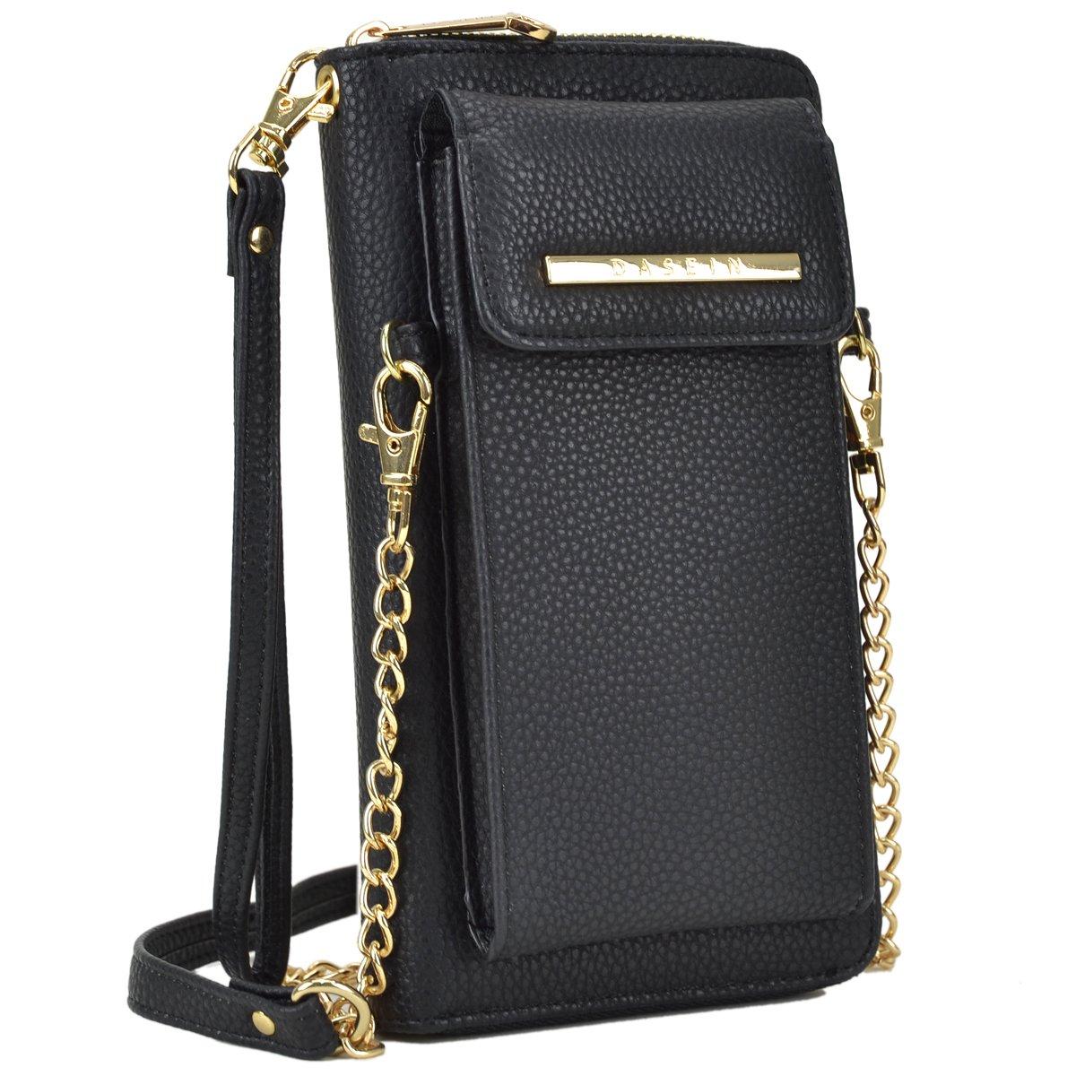 Cellphone Wallet Purse Phone Pouch Wristlet Clutch Crossbody Shoulder Bag - 12 Slots