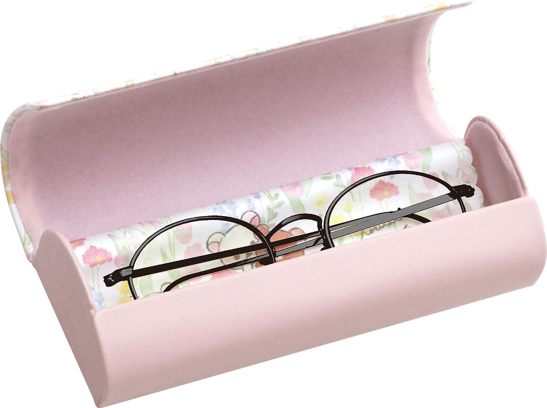 w//Cleaning Cloth DG32001 Rilakkuma Korilakkuma meets Chairoikoguma Glasses Case