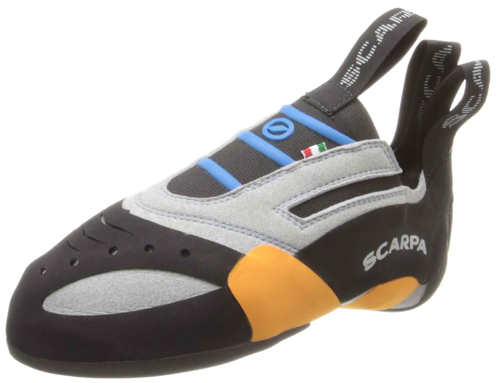 Scarpa Men's Stix Climbing Shoe,Silver,44 EU/10.5 M US
