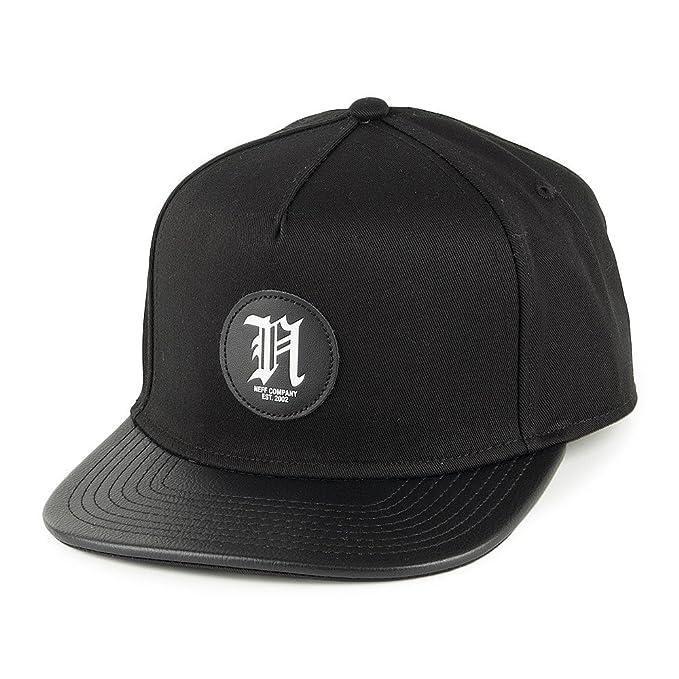 Neff sombreros simple Gorra con visera, color negro Negro negro Talla única: Amazon.es: Ropa y accesorios