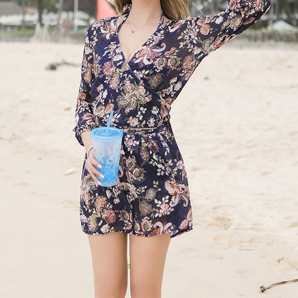 HOMEE Traje de baño Beach Skirt - Traje de baño para Mujer Small ...