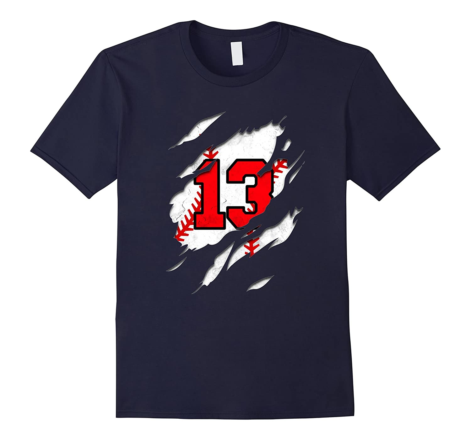 13th birthday baseball shirt-CD