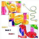 Gifts2U Marble Run Toy, 130Pcs Educational