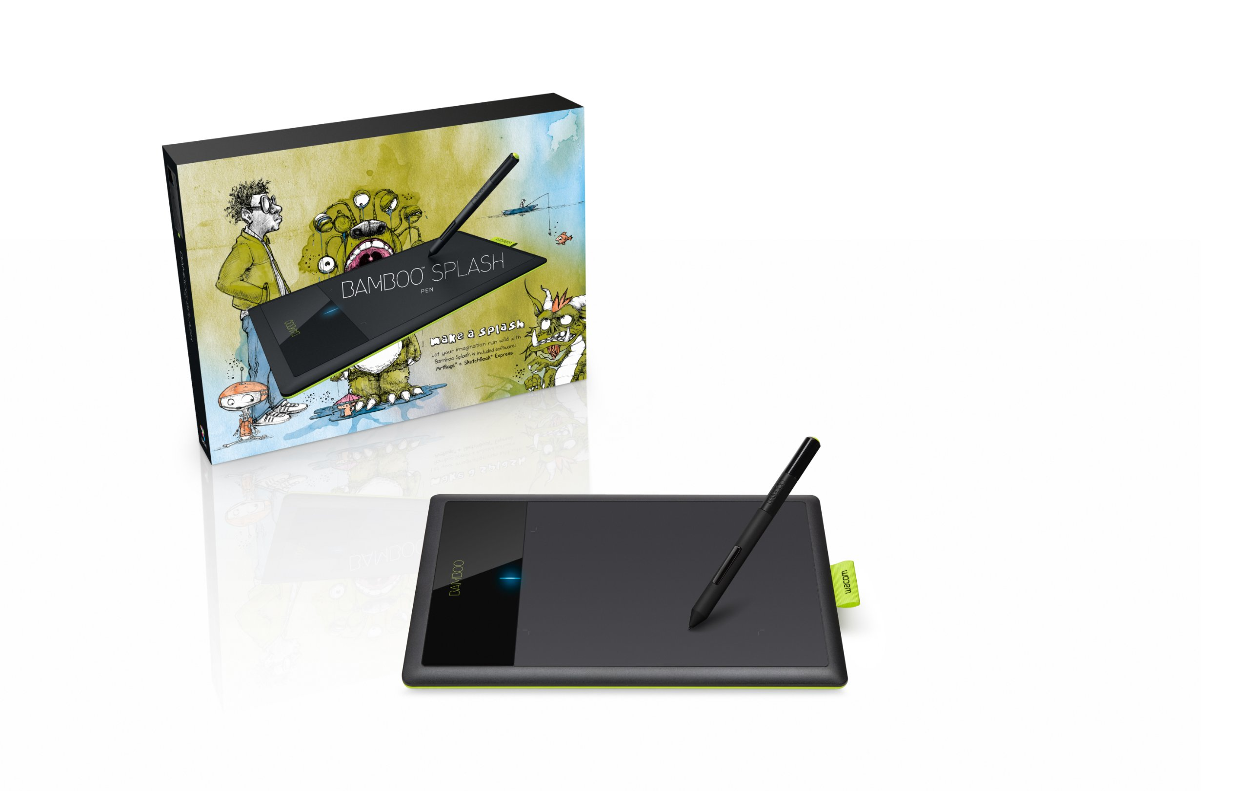 Wacom Bamboo Splash Pen Tablet (CTL471)