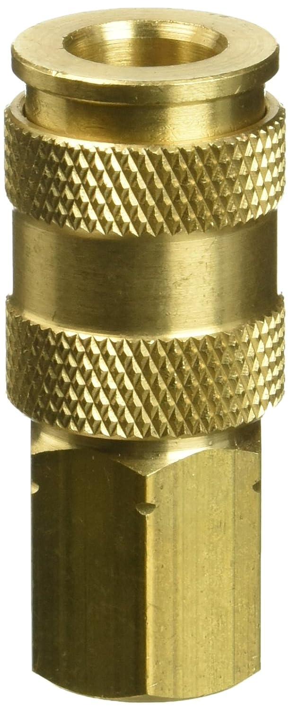 Milton 764 1/4 FNPT V Style High Flow Coupler Milton Industries