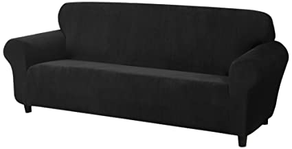 Genial Madison DAY SOFA BK Kathy Ireland Day Break Sofa Slipcover,Black