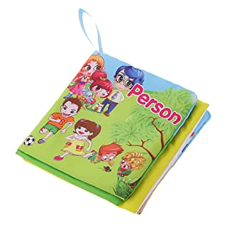 MagiDeal Colorato Libro di Panno Carino Animale con La Scrittura Disegno Acqua Giocattoli Educativi Bambini Tappetino - 2