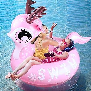 Hinchable colchonetas, joylink Juguete Hinchable Flotante Gigante del Piscina Cama Flotante General y Anillo de la natación Silla de la recreación del ...