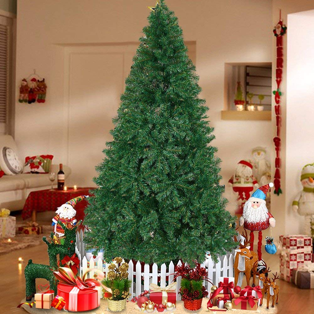 60cm PVC Artificial Christmas Tree W//Stand Holiday Season Decor String A7L4