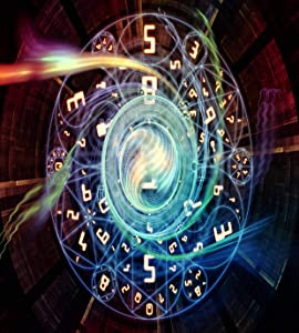 Qewhyn Poster Numeric Connection Series Composition Number Fractal Geometry Symbols Wall Art Painting Print Home Artwork Decoration for Living Room Bedroom Office Unframed 24x36 lnches