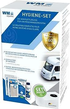 Hygiene Set Frischwassertank Bis 160 Liter Inkl 2 X Silberpad Zur Automatischen Wasserkonservierung Auto