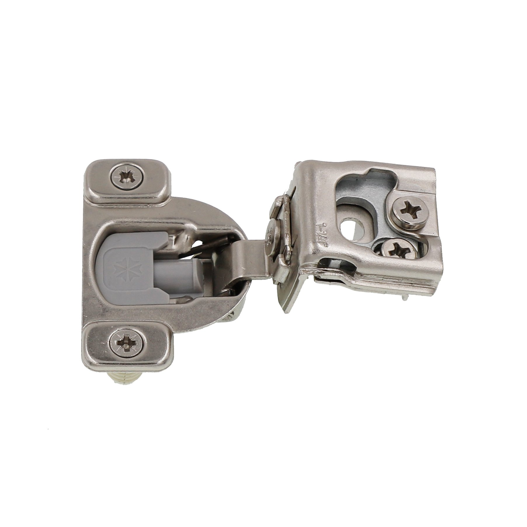 1-1/4'' Overlay Soft Close Face Frame 105° Compact Cabinet Hinge (50) by DecoBasics (Image #3)