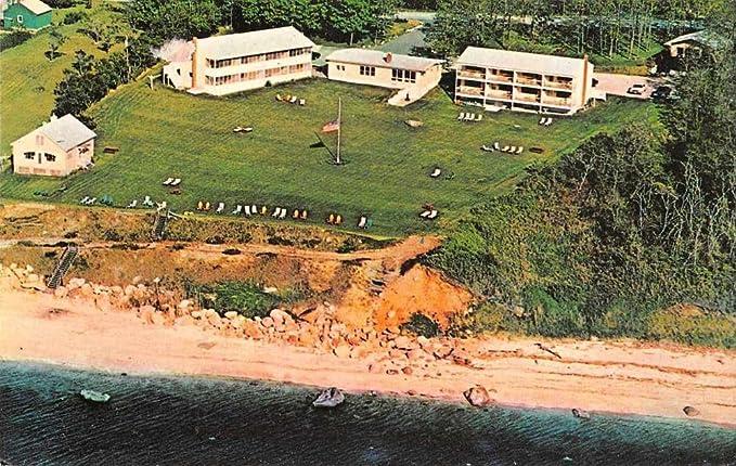 Greenport Long Island New York Sunset Resort Motel Vintage