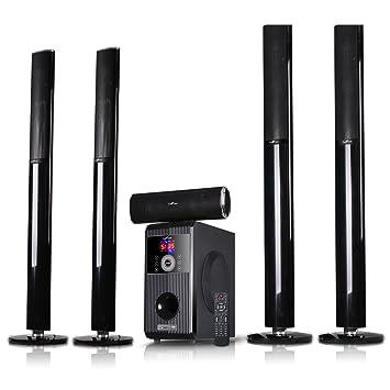 Befree amplificador de sonido 5.1 Canal Bluetooth casa sistema de altavoces con USB y SD Ranuras
