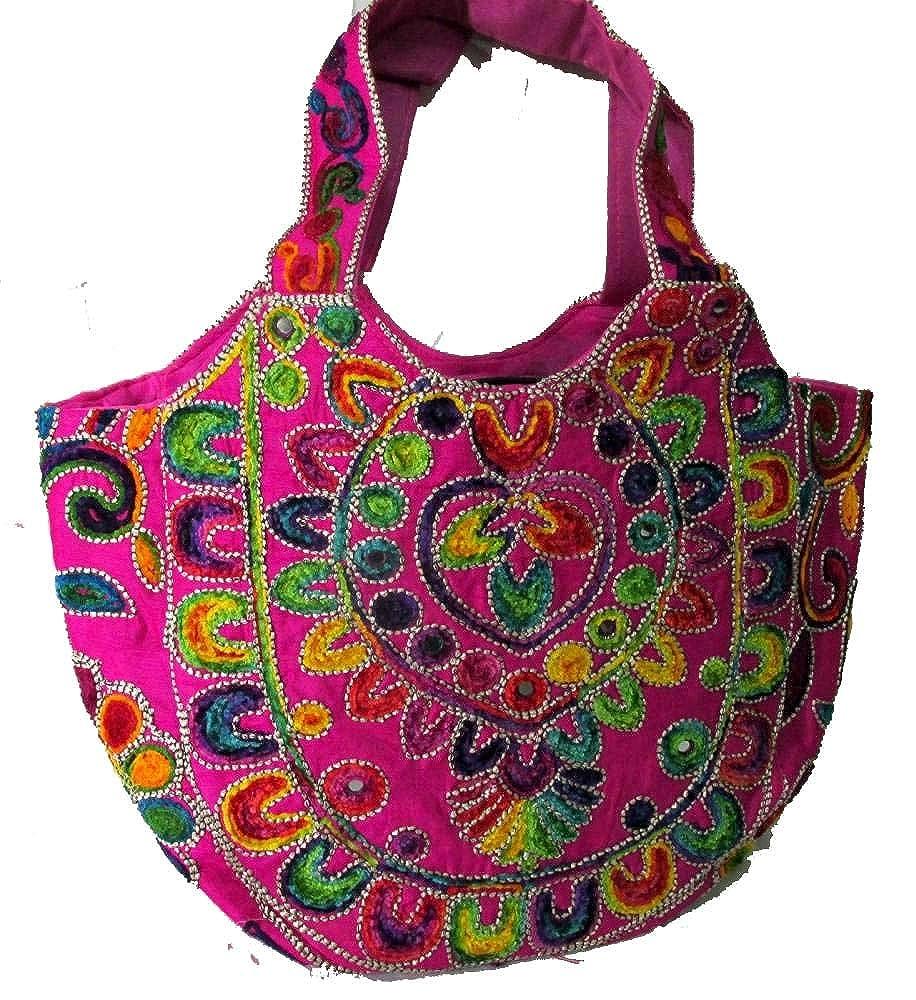- Indian Wholesale 50 pc lot Bulk Mandala Ombre Hippie Assorted Bag Tribal Boho Shoulder & Handbag Ethnic Cotton Messenger Carry Bag With Shoulder Strap Tote Purse For Ladies by Craft Place CAD-98