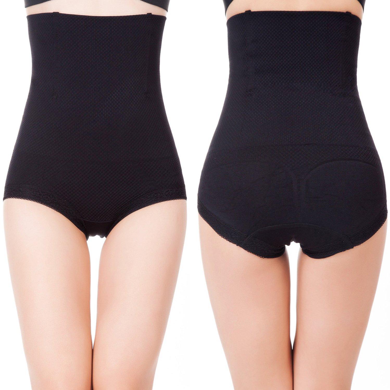 Pop Fashion Womens Shapewear Panties Bodysuit Body Shaper High Waist Tummy Control Seamless Strapless Slimming Panty Briefs