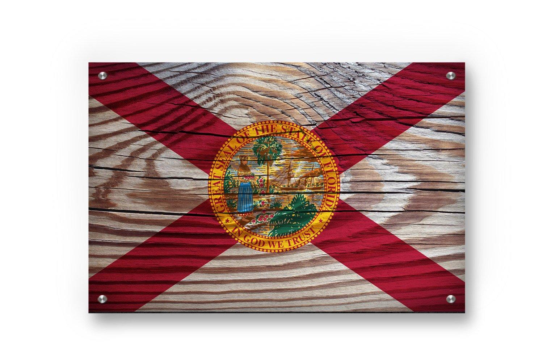 世界的に Buttered Inches) Kat Florida State Flagグラフィティウォールアートにプリントつや消しアルミニウムby Medium (28 x x x 17 Inches) レッド B07BY359R1 Small (22 x 14.5 Inches) Small (22 x 14.5 Inches), MEX ONLINE STORE:32f6d9bd --- arianechie.dominiotemporario.com