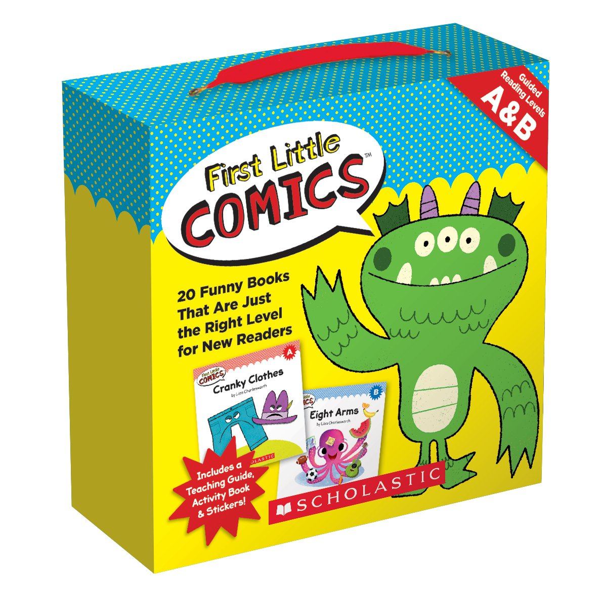 First Little Comics Parent Pack: Levels A & B: 20 Funny Books That Are Just the Right Level for New Readers pdf epub
