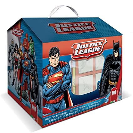 Multiprint 09953 – Justice League House 7 Stamps