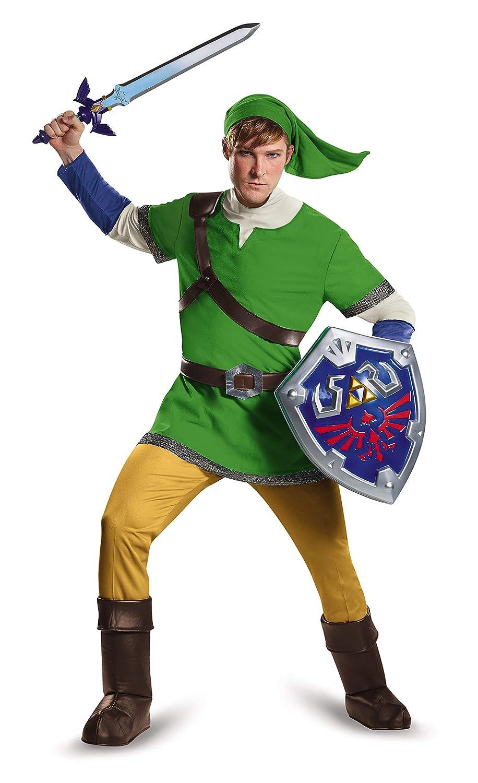 Disguise Mens Link Deluxe Adult, Green, Medium: Amazon.es ...