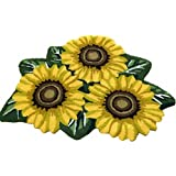 "Hughapy 3 Sunflower Design Bedroom Mat Antiskid Carpet/Area Rug,31.5""x20"""