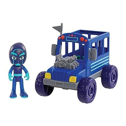 Amazon.com: Máscaras PJ Vehículo Noche Ninja Bus con Ninja ...