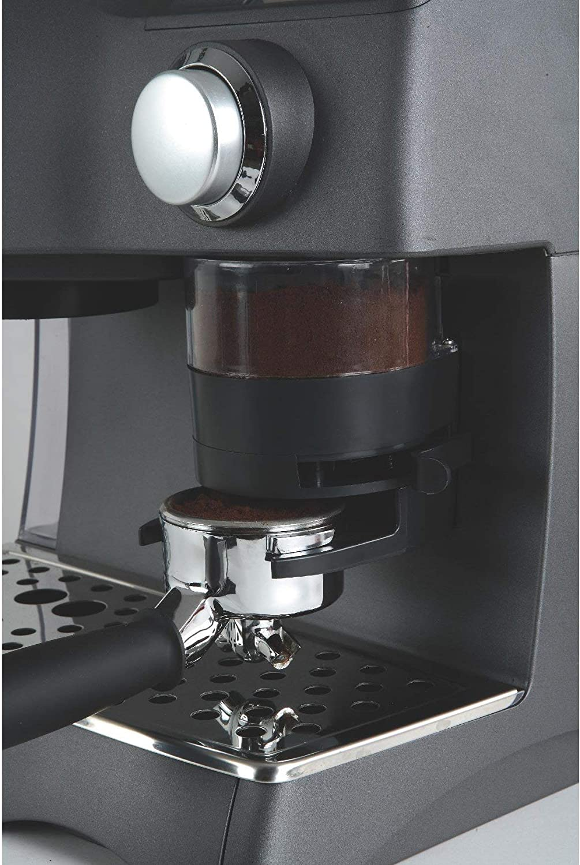 Ariete Café Roma Plus 1329/51 - Máquina de café, 15 bares de presión, molinillo de café: Amazon.es: Hogar
