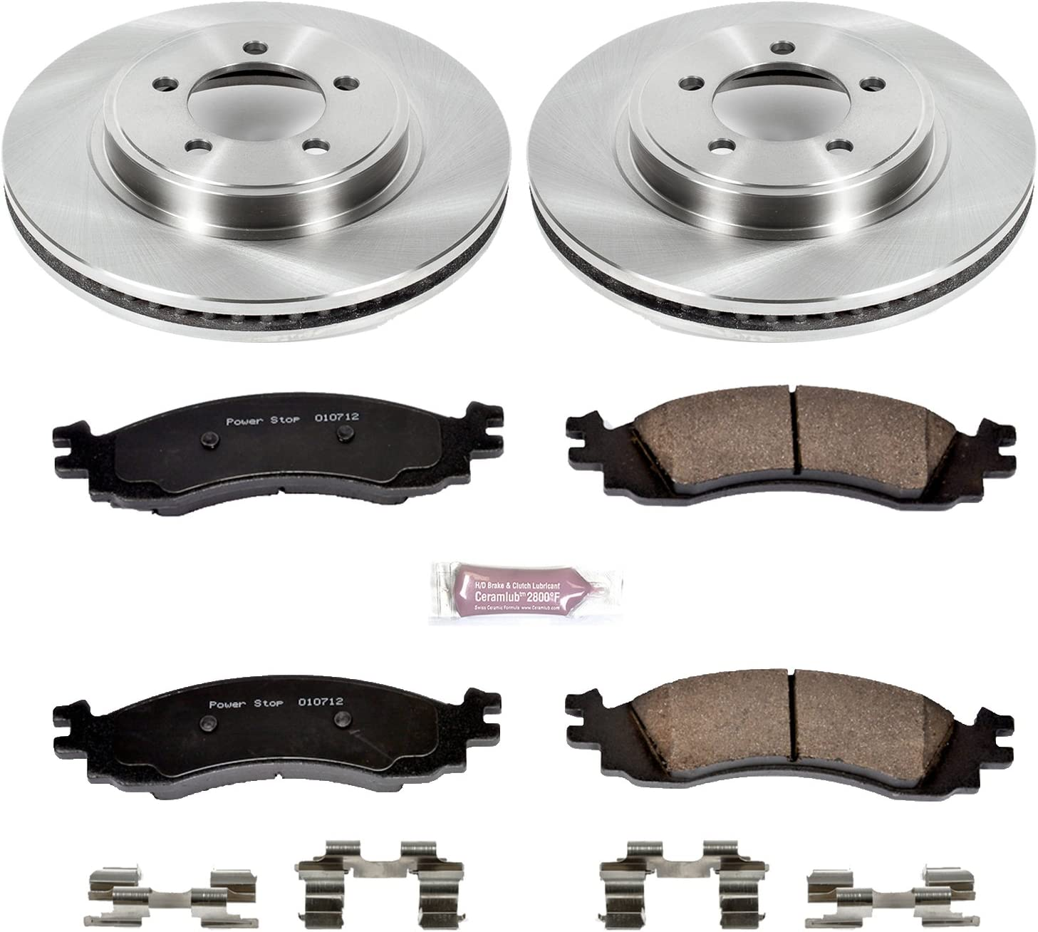 Autospecialty KOE5377 1-Click OE Replacement Brake Kit