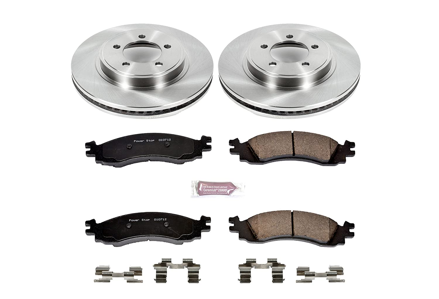 Autospecialty 1-Click OE Replacement Brake Kit KOE1441