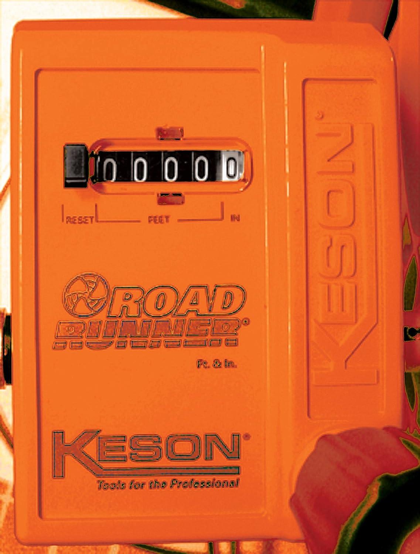 Keson RR30 Kesonite Measuring Wheel with Telescoping Handle Graduations: ft. /& in. 11-1//2-Inch Diameter