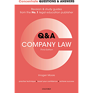 Concentrate Questions and Answers Company Law: Law Q&A Revision and Study Guide (Concentrate Questions & Answers)