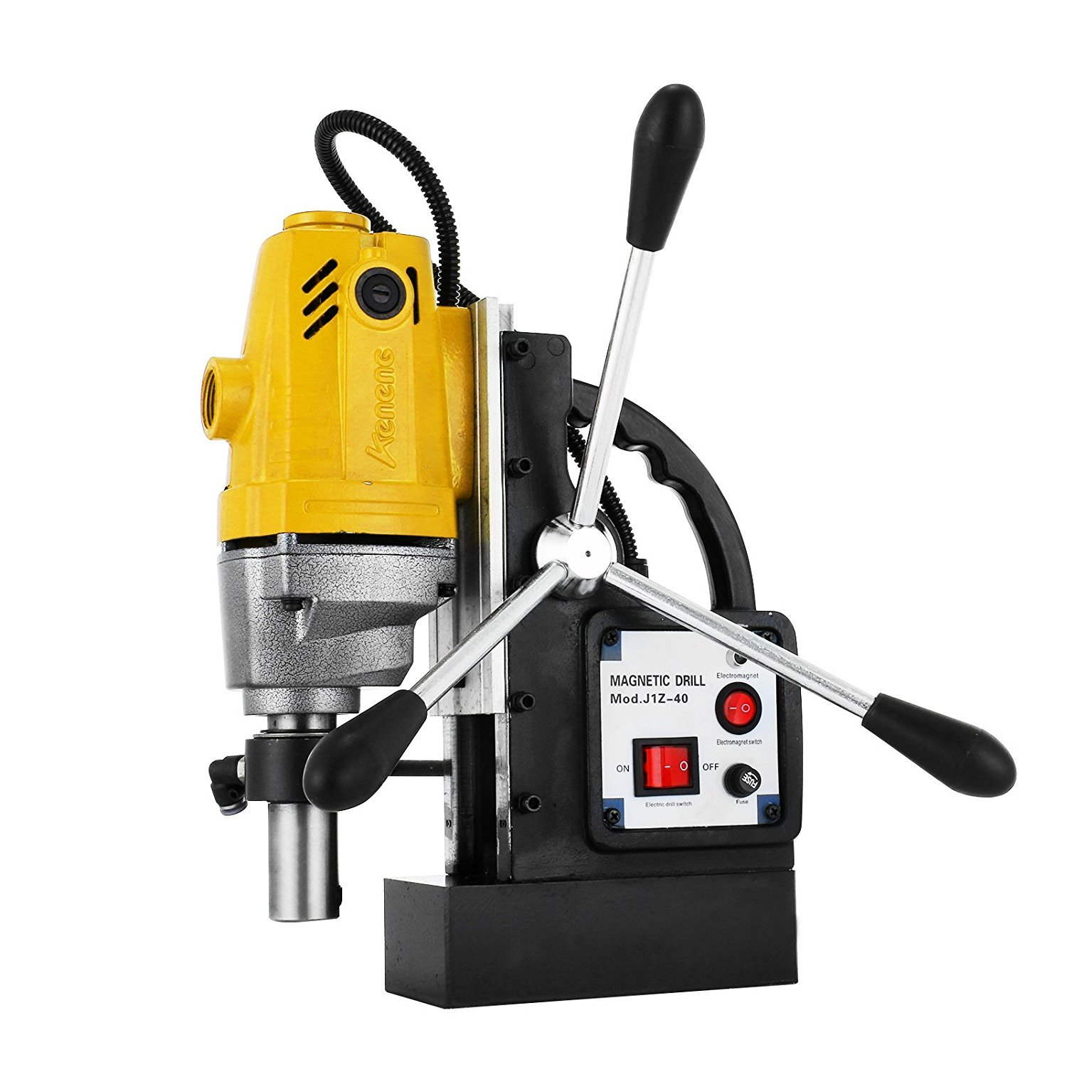 VEVOR MD40 Magnetic Drill Press 1-1 2'' Boring and 2700 Lbs Magnet Magnetic Drilling System