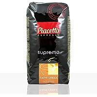 "Piacetto Espresso Kaffee Supremo ""CAFFÈ CREMA"" 6 x 1kg Karton- ganze Bohne"