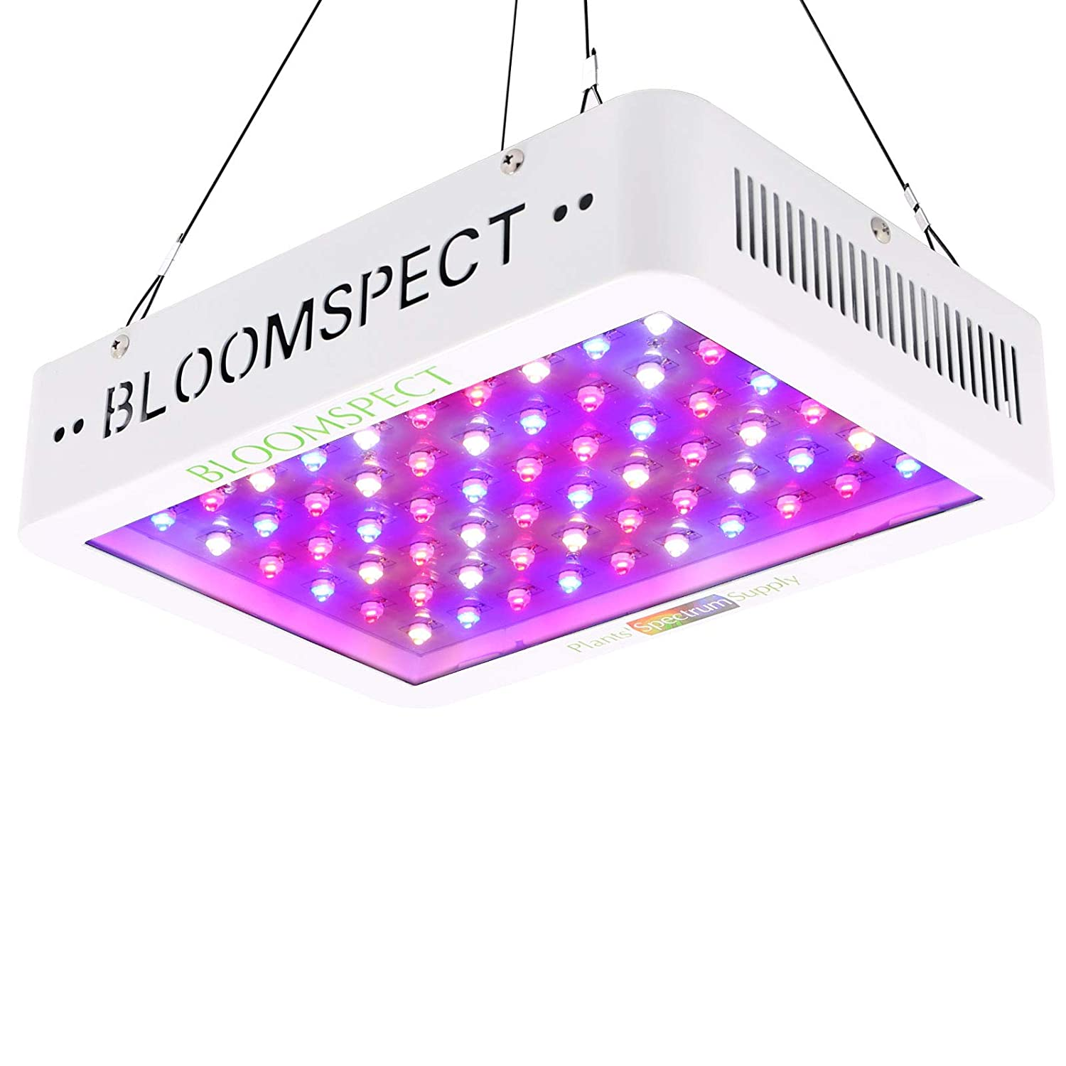 Bloomspect 600 watts LED Grow Light for Indoor Marijuana Review