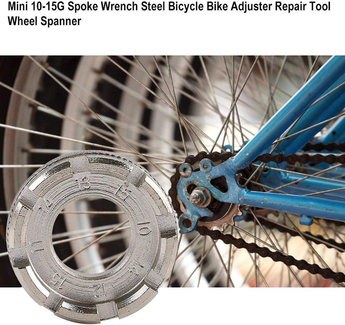 Sylvialuca Llave de radios Acero Bicicleta Bicicleta Ajustador ...