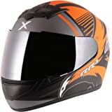 Axor Rage RR3 Dull Black Orange Helmet-L