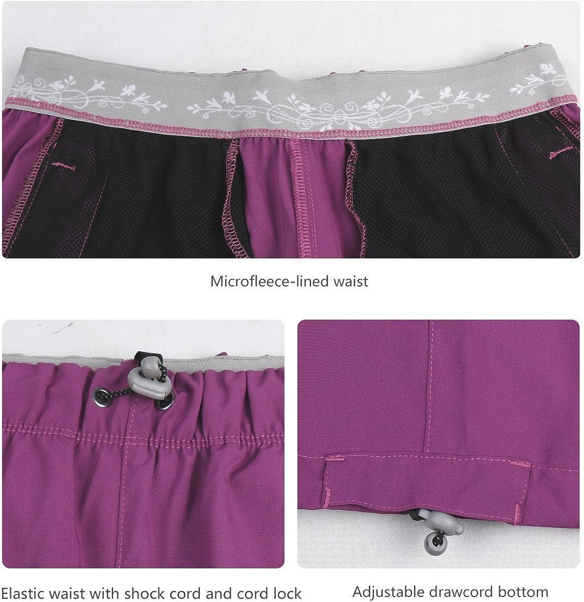 Pantalones Cortos Deportivos para Hombre con Cintura el/ástica y Bolsillos con Cremallera DISHANG de Secado r/ápido