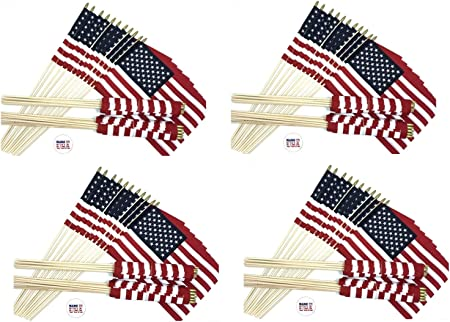 "12x18 USA Police Thin Blue Line Memorial American Stick Flag wood 30/"" Staff"